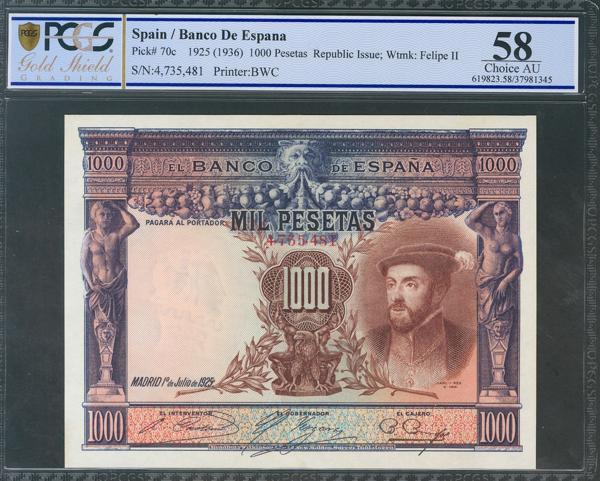 28 - Billetes Españoles