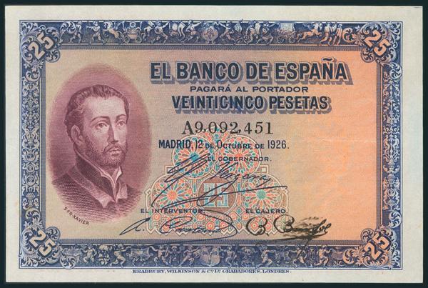 29 - Billetes Españoles