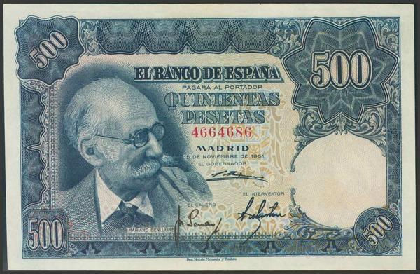 307 - Billetes Españoles