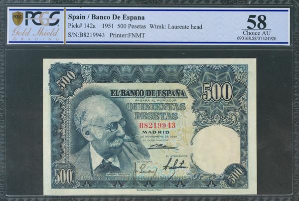 308 - Billetes Españoles