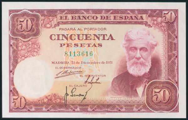 314 - Billetes Españoles