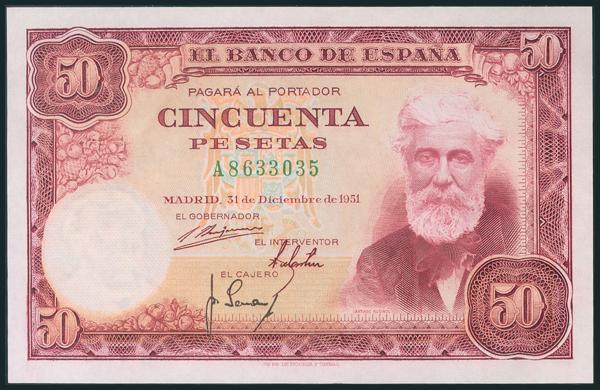 316 - Billetes Españoles
