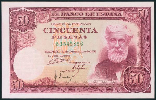 318 - Billetes Españoles