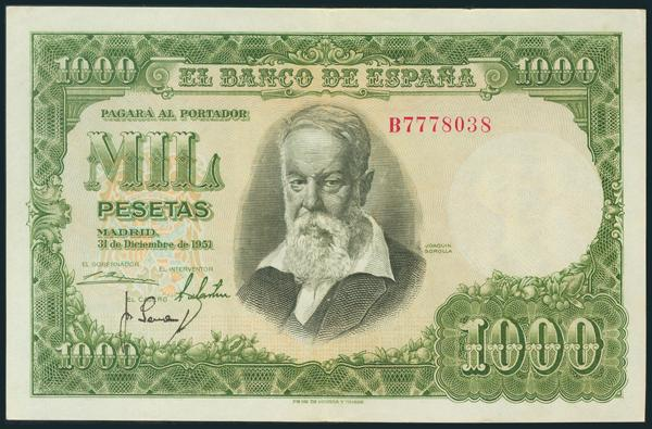 326 - Billetes Españoles