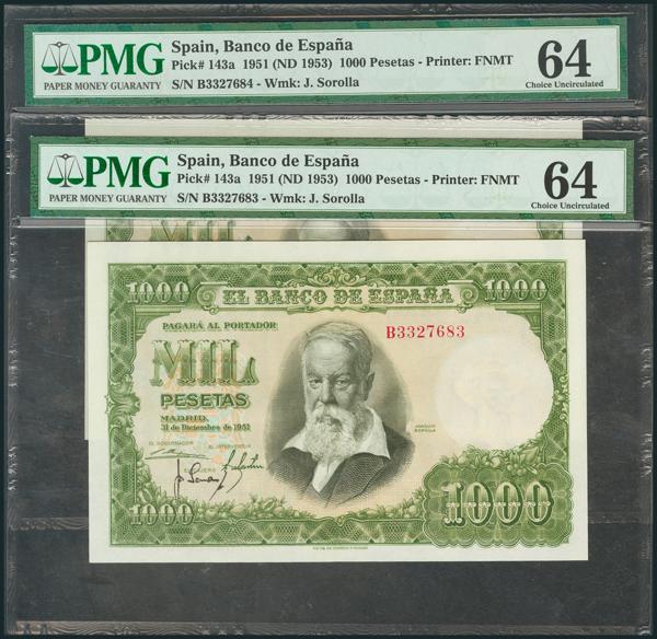 327 - Billetes Españoles