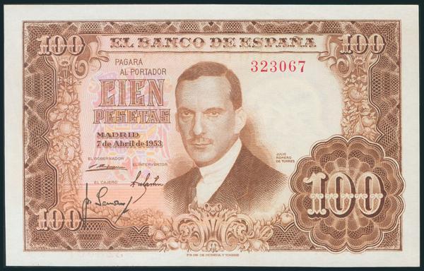 328 - Billetes Españoles