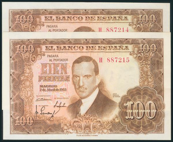 329 - Billetes Españoles