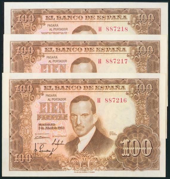 330 - Billetes Españoles