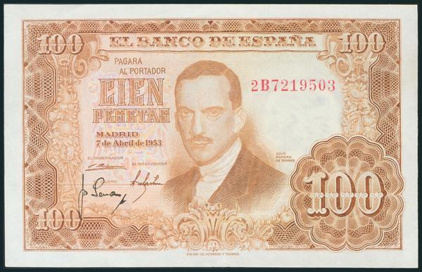 331 - Billetes Españoles