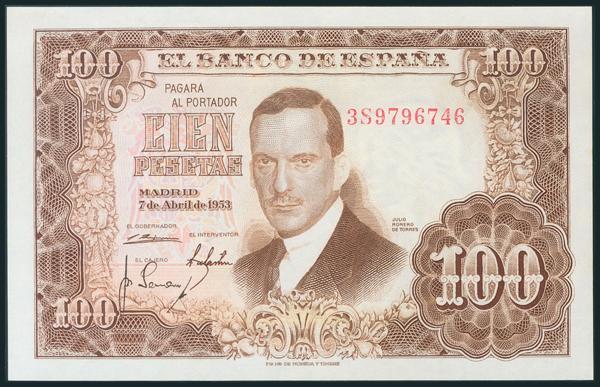 332 - Billetes Españoles