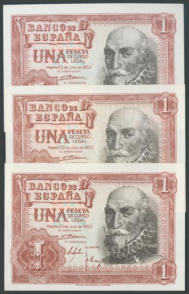 335 - Billetes Españoles