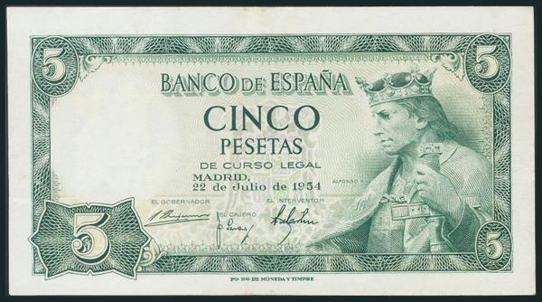 339 - Billetes Españoles