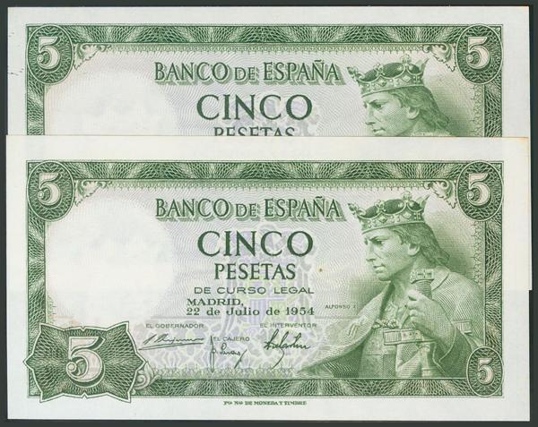 340 - Billetes Españoles