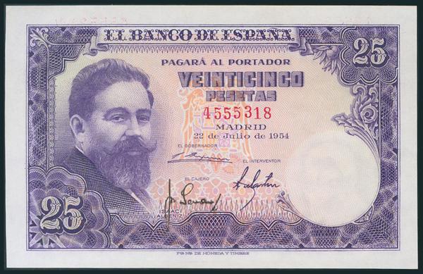 341 - Billetes Españoles