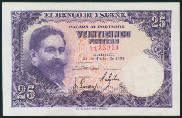 343 - Billetes Españoles