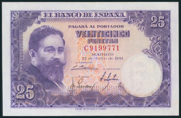 344 - Billetes Españoles