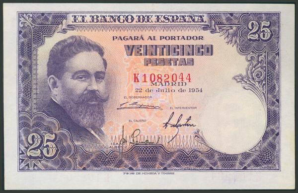 345 - Billetes Españoles