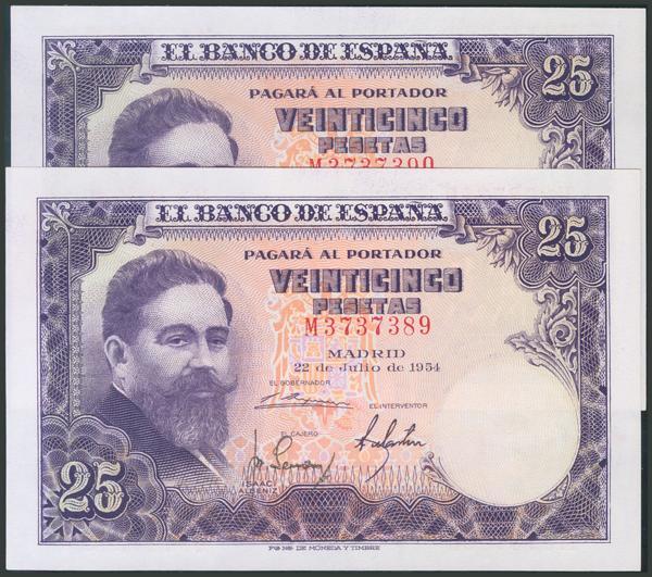 346 - Billetes Españoles