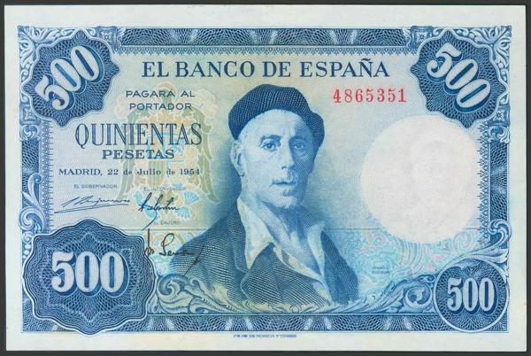 348 - Billetes Españoles