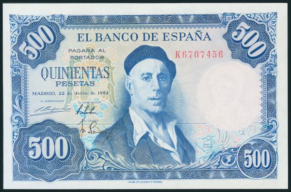351 - Billetes Españoles