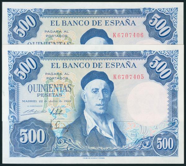 352 - Billetes Españoles