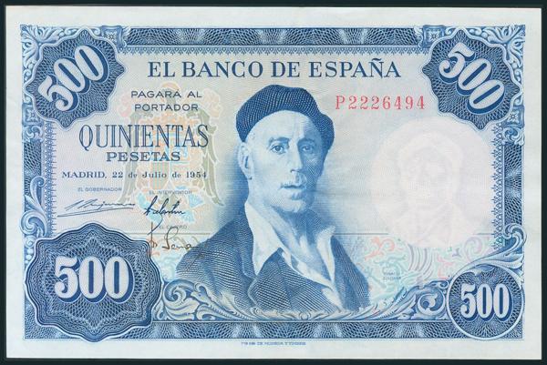 353 - Billetes Españoles