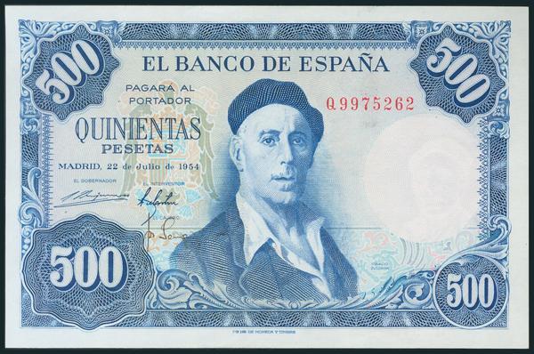 354 - Billetes Españoles