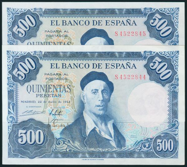 355 - Billetes Españoles