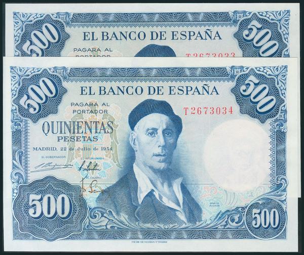 356 - Billetes Españoles