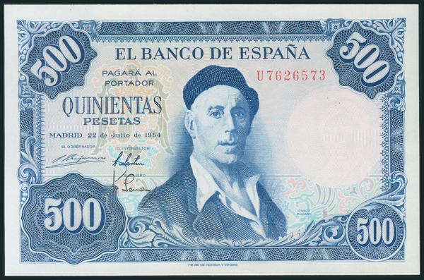 357 - Billetes Españoles