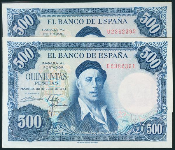 358 - Billetes Españoles
