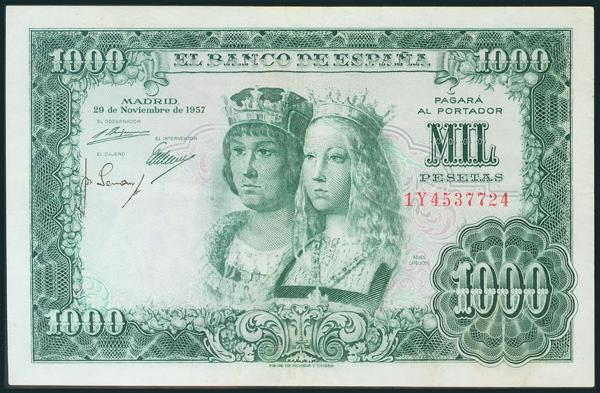 363 - Billetes Españoles