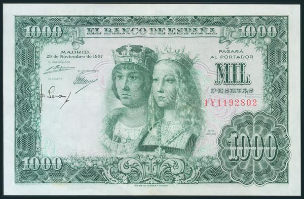 364 - Billetes Españoles