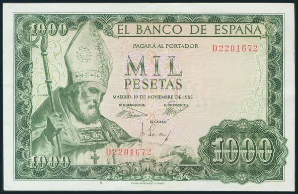 375 - Billetes Españoles