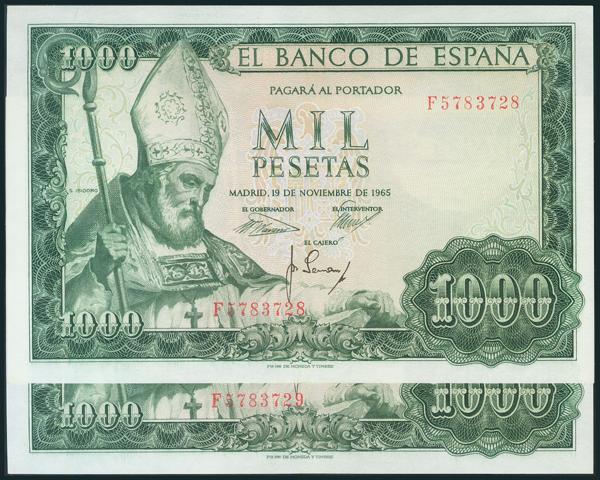 376 - Billetes Españoles