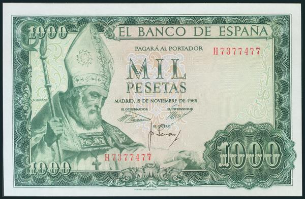 378 - Billetes Españoles
