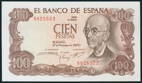 383 - Billetes Españoles