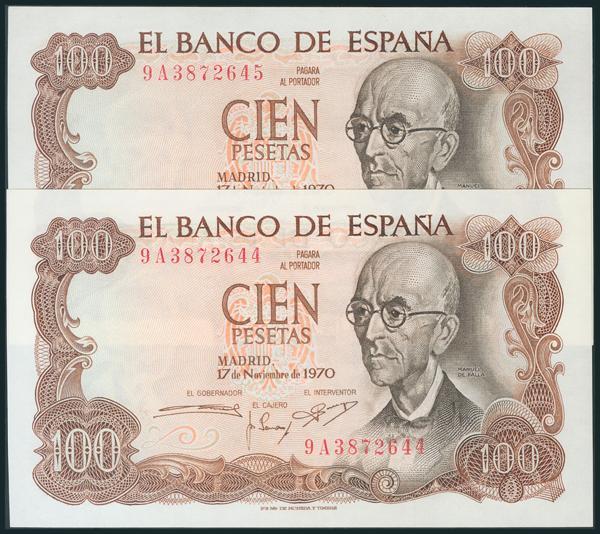 384 - Billetes Españoles