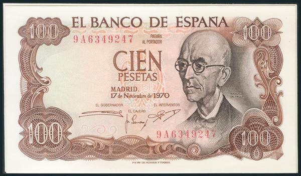 385 - Billetes Españoles