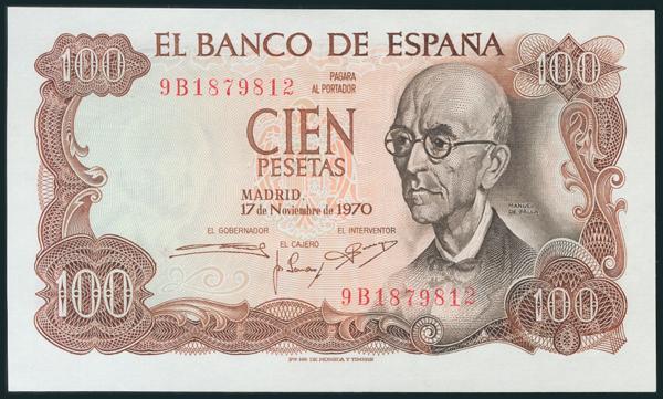 386 - Billetes Españoles