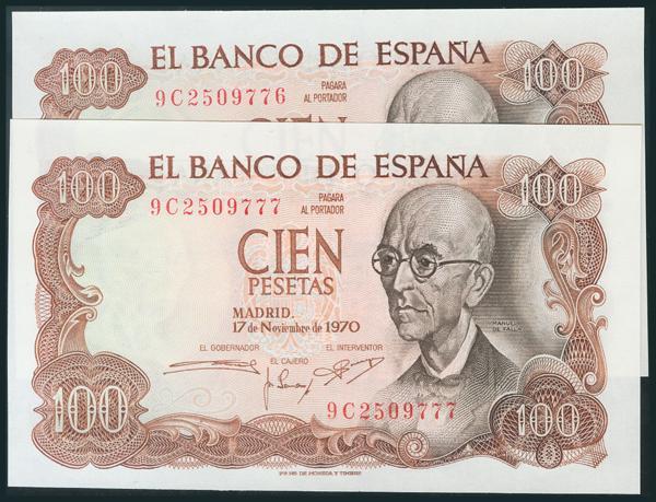387 - Billetes Españoles