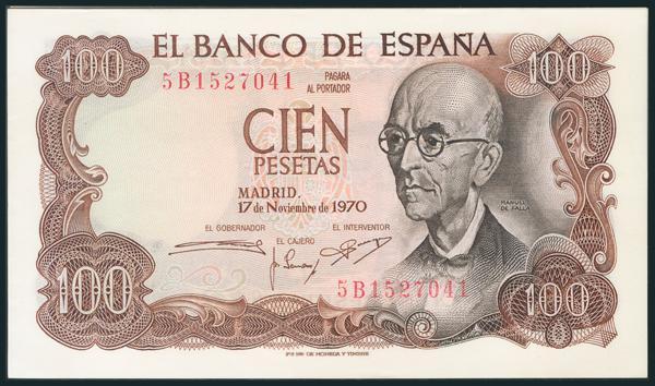 389 - Billetes Españoles