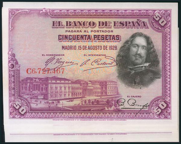 38 - Billetes Españoles