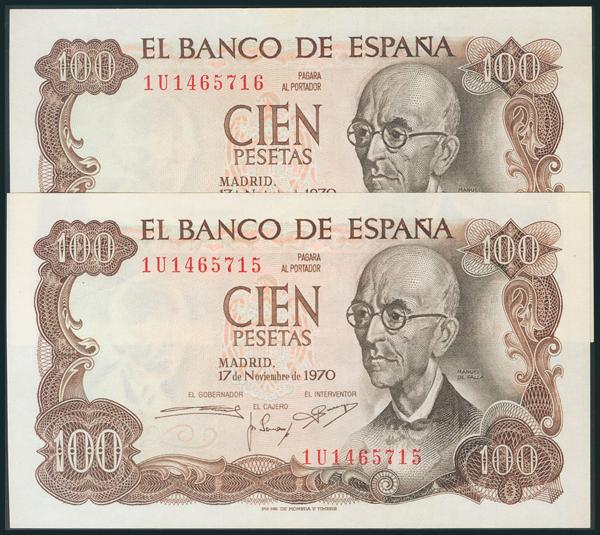 392 - Billetes Españoles