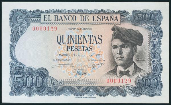 394 - Billetes Españoles