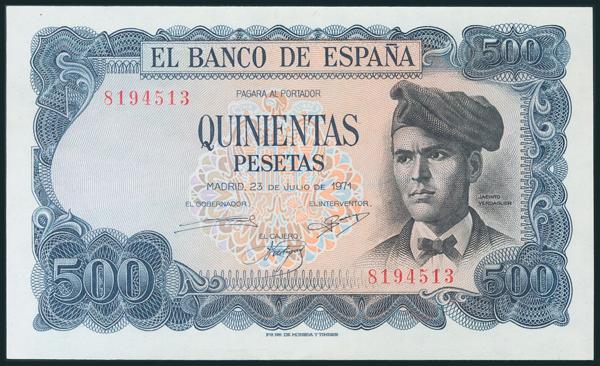 395 - Billetes Españoles