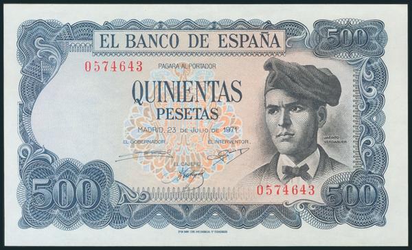 396 - Billetes Españoles