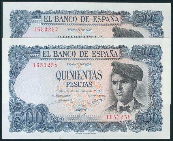 397 - Billetes Españoles
