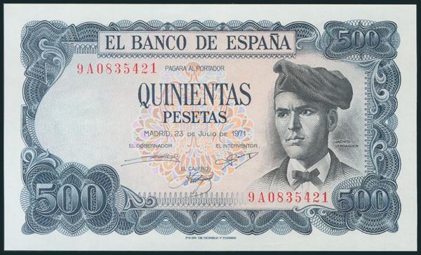 398 - Billetes Españoles