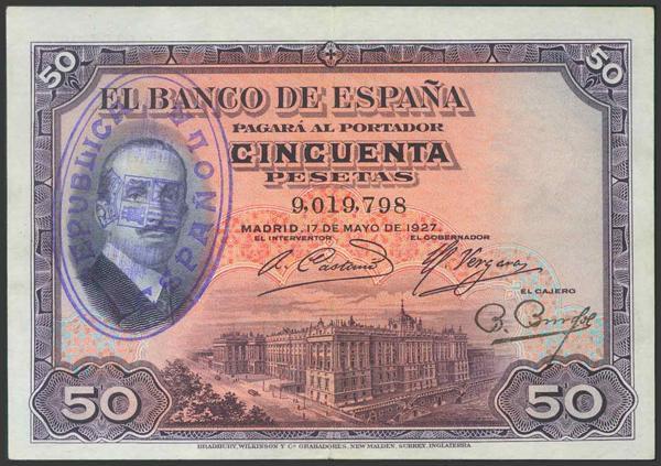 40 - Billetes Españoles